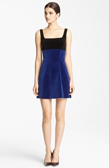 Christopher Kane Sleeveless Velvet Dress
