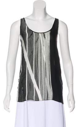 Kimberly Ovitz Silk Sleeveless Top