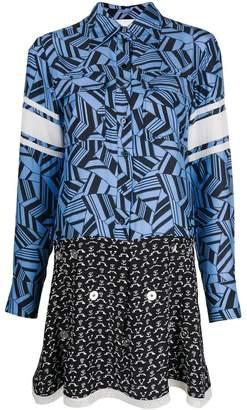 Chloé multi-pattern dress