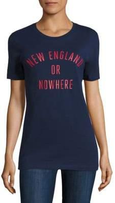 Knowlita New England Or Nowhere Cotton Graphic Tee
