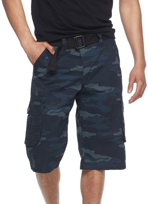 DAY Birger et Mikkelsen Rawx Men's RawX Regular-Fit Belted Cargo Shorts