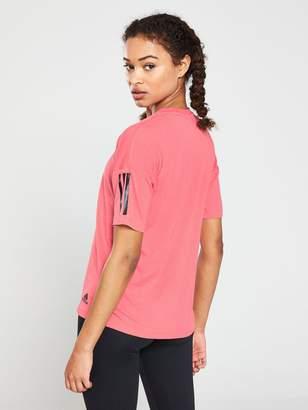 bef4e96bddd Adidas 3 Stripe T-shirt - ShopStyle UK