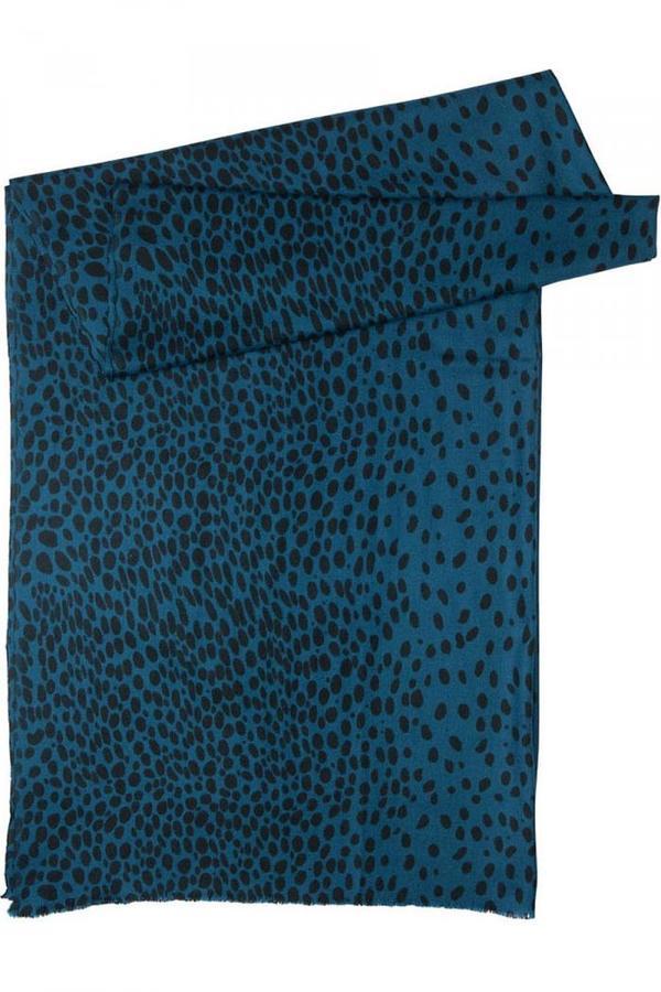 Steffen Schraut Blue Dot Fancy Printed Scarf