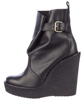 Pierre Hardy Wedge Ankle Boots Black Wedge Ankle Boots