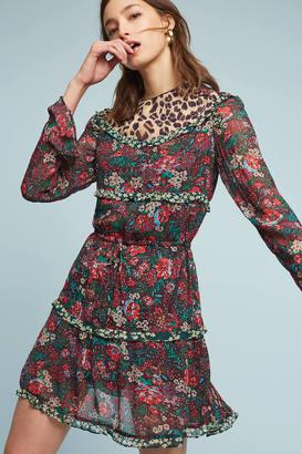 Scotch & Soda Leopard & Lillies Dress $198 thestylecure.com