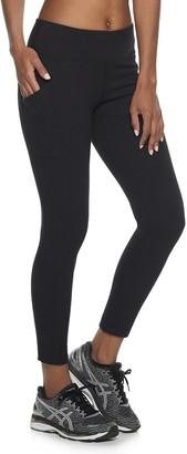 Tek Gear Women's Side Pocket Midrise Ankle Leggings