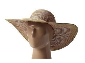 San Diego Hat Company MXL1016 Mixed Braid Large Brim Floppy