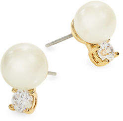 Kate Spade Pearls of Wisdom Stud Earrings