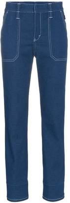 Chloé Straight leg ultramarine jeans