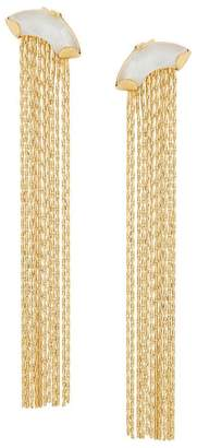 Wouters & Hendrix My Favourite mother-of-pearl chain earrings