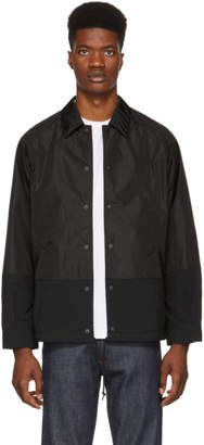 Comme des Garcons Homme Homme Black Nylon Oxford Jacket