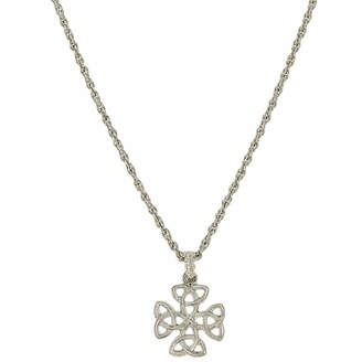 1928 SYMBOLS OF FAITH 1928 Symbols Of Faith Religious Jewelry Womens Cross Pendant Necklace