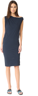 James Perse One Shoulder Draped Dress $245 thestylecure.com