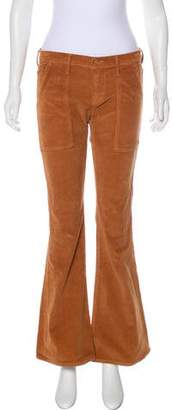 Mother Mid-Rise Flared Pants