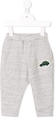 Familiar car embroidered tracksuit bottom