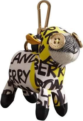 Burberry Wendy The Sheep Graffiti Print Cotton Charm