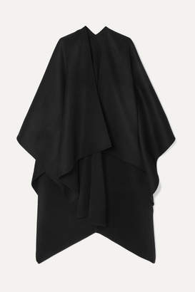Joseph Wool And Cashmere-blend Cape - Black