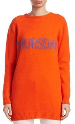 Alberta Ferretti Rainbow Week Capsule Days Of The Week Thursday Tunic