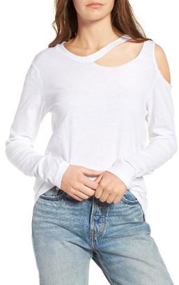 Women's Lna Slash Detail Tee $99 thestylecure.com