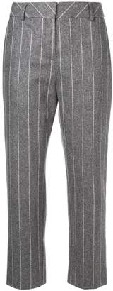 Eleventy pinstripe tailored trousers