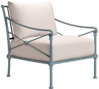 1800 Outdoor Club Chair - White Sunbrella - TECTONA