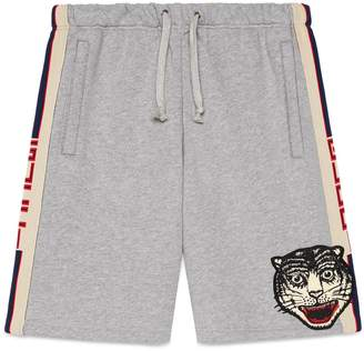 Gucci stripe cotton shorts