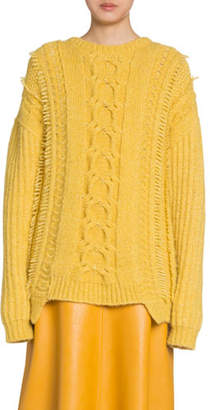 Stella McCartney Alpaca Cable-Knit Sweater