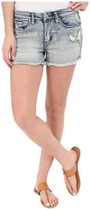 Blank NYC High Rise Denim Distressed Shorts Women's Shorts