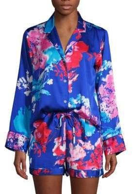 Natori Two-Piece Floral Pajama Set