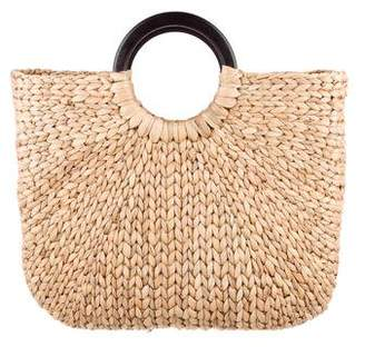 Sir/Madam Large Demilune Basket Tote