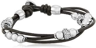 Fossil Rondel Wrist Wrap Bracelet