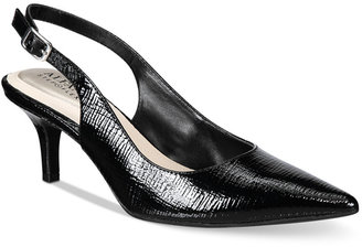 Alfani Women's Step 'N Flex Babbsy Pointed-Toe Slingback Pumps, Created for Macy's Women's Shoes $69.50 thestylecure.com