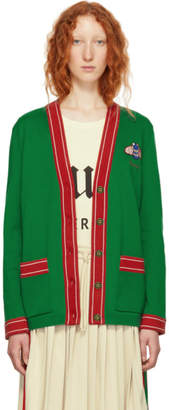 Gucci Green Bee Cardigan