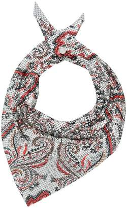 Paco Rabanne paisley print scarf