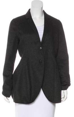 Calvin Klein Collection Wool Asymmetrical Blazer