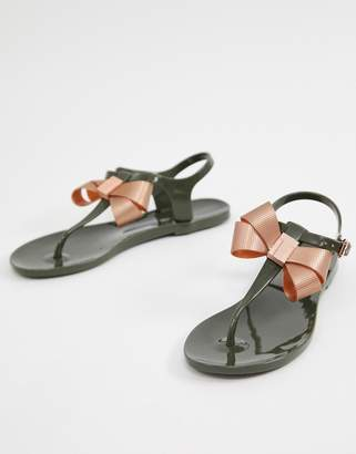 Ted Baker bow flat sandals