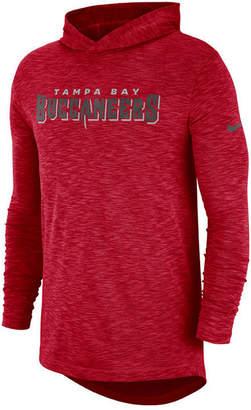 Nike Men's Tampa Bay Buccaneers Dri-Fit Cotton Slub On-Field Hooded T-Shirt