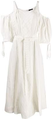 Loewe gathered waist dress