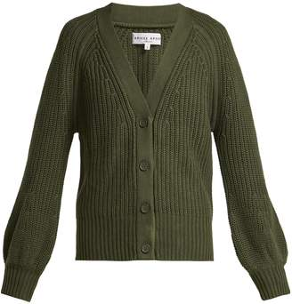 Apiece Apart Gerrit cotton and cashmere-blend V-neck cardigan
