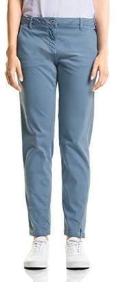 Cecil Women's 371574 Valencia Chino Trousers,36W x 28L