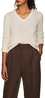 The Row Women's Aetra Cashmere-Blend V-Neck Sweater