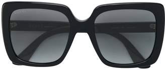 Gucci mass large square sunglasses
