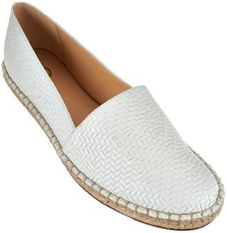 C. Wonder Embossed Leather Espadrilles - Margot