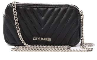 Steve Madden Gina Chevron Quilted Crossbody Bag