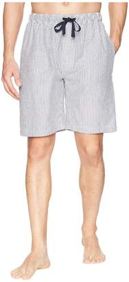 Jockey Yarn-Dye Broadcloth Sleep Shorts Men's Pajama