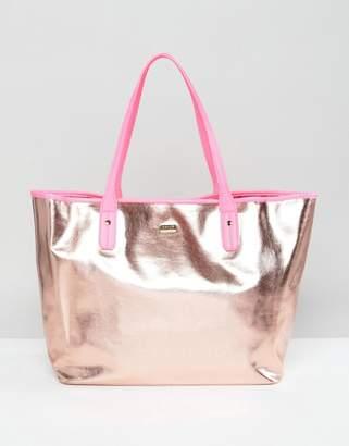 ban.do BAN DO Rose Gold Tote Bag