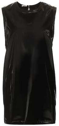Miu Miu Faux patent leather dress