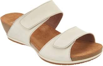 Dansko Leather Adjustable Two Strap Sandals- Vienna