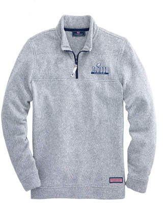 Vineyard Vines Super Bowl LIII Sweater Fleece Shep Shirt