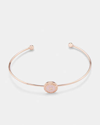 Ted Baker ELVAS Enamel button bangle
